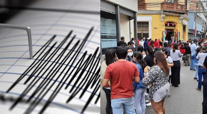 El Perú sigue temblando: Fuerte sismo sacudió el norte del país esta mañana