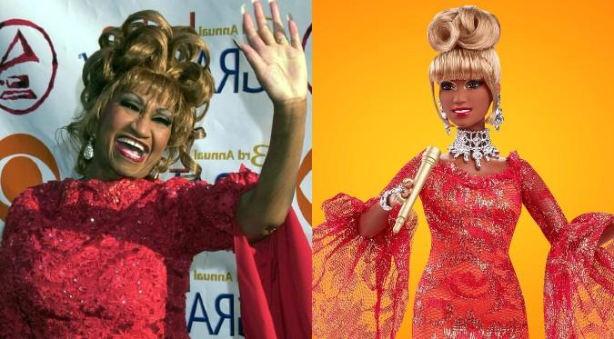 "Celia Cruz tendrá su propia muñeca ""Barbie"" | FOTOS"