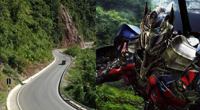 Transformers: Producción de la película construirá una carretera en la selva
