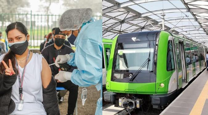 COVID-19: Conoce las estaciones del tren que funcionarán como centros de vacunación | FOTOS