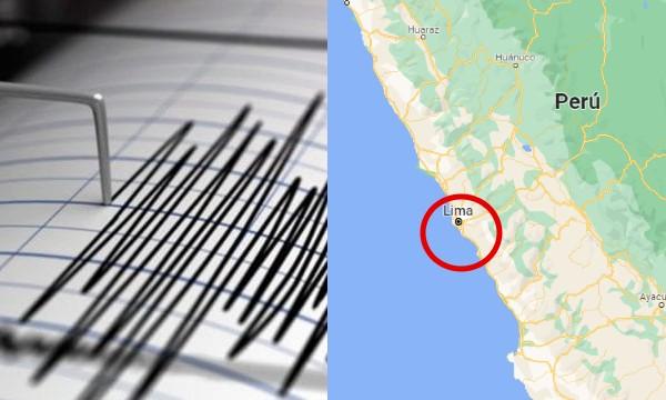 El Perú sigue temblando: Fuerte sismo sacudió el departamento de Lima hace unas horas