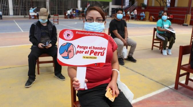 Coronavirus en Perú: El 40% de la población peruana está vacunada contra el COVID-19   FOTOS