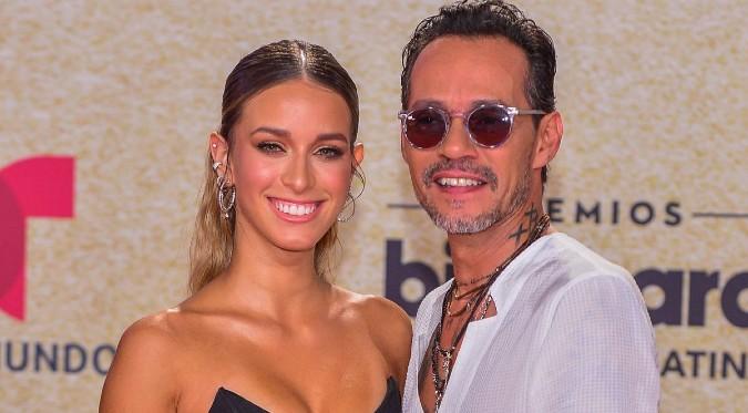 Marc Anthony presenta a su novia de 19 años en los Premios Billboard | FOTOS