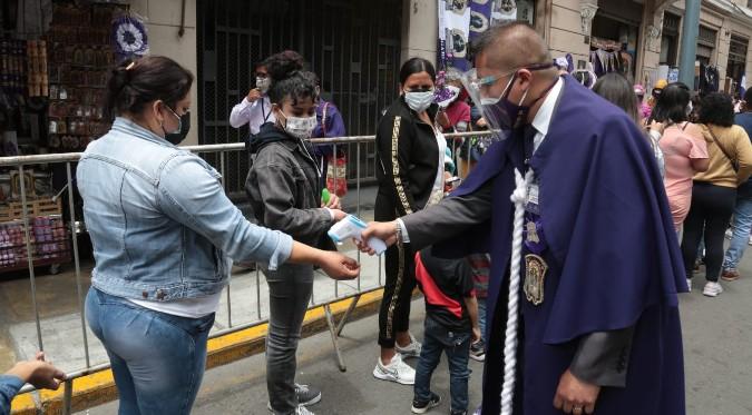COVID-19: Iglesia de Las Nazarenas se convierte en centro de vacunación   FOTOS