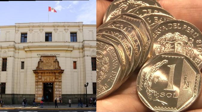 """Banco Central de Reserva: ¿Conoces la nueva moneda de """"plata"""" en homenaje a la Biblioteca Nacional del Perú?   FOTOS"""